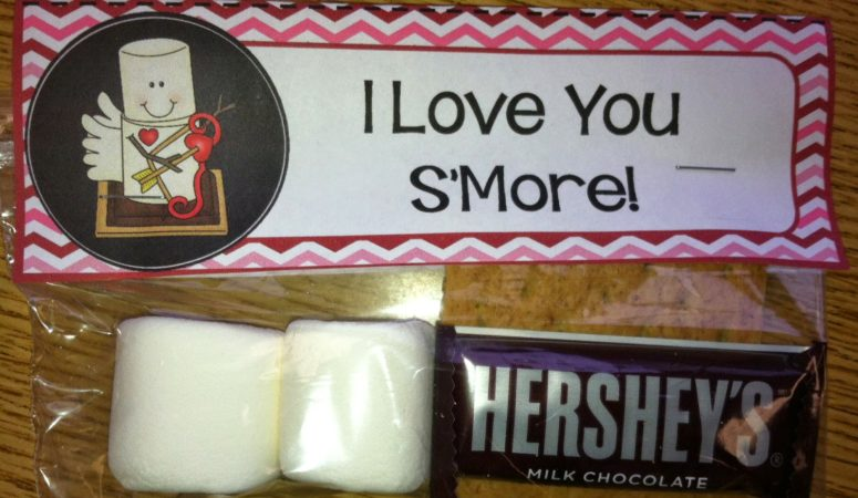 I Love You S'more! A FREEBIE for Valentine's Day!