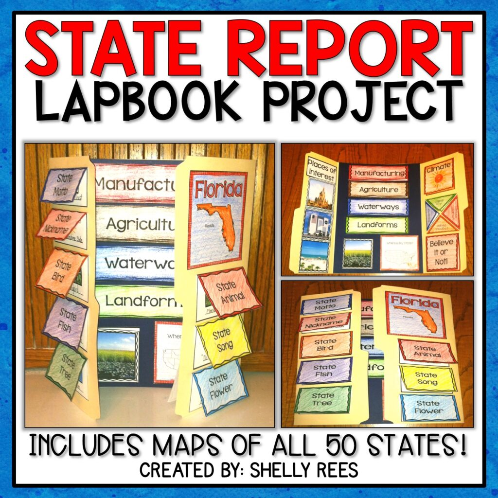 State Report Lapbook