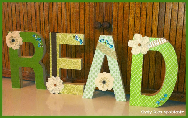 Mod Podge Wooden Letters for Your Classroom: DIY!