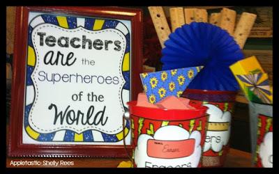 Shop the Superhero Themed Classroom Kit