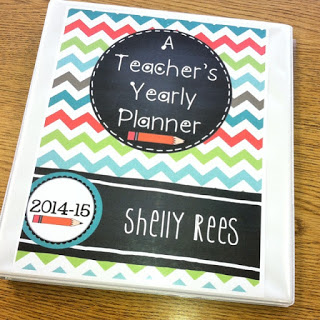 Getting Organized and Staying Organized with a Teacher's Yearly Binder
