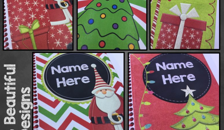 Personalized Christmas Notebooks: The Perfect Student Gift