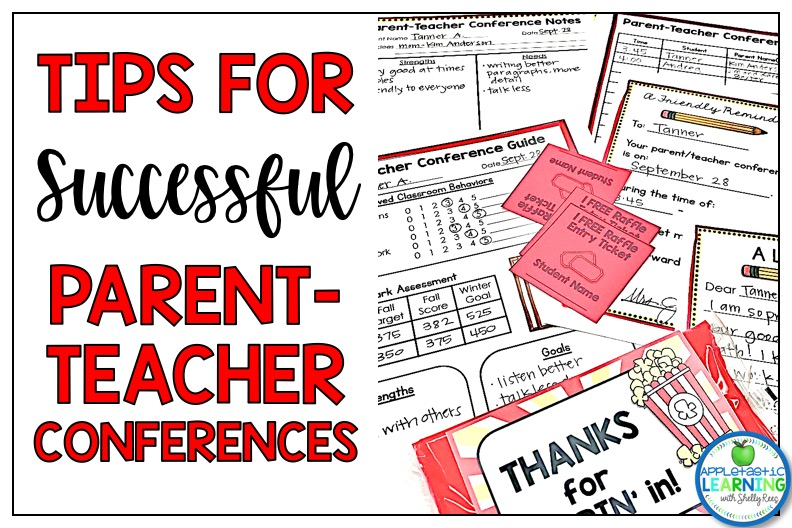 Grab some tips for successful parent teacher conferences in your classroom.