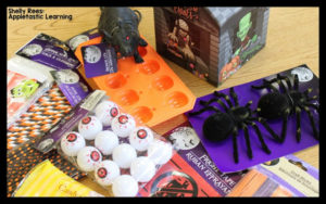 Halloween Learning Centers – Dollar Tree Finds!