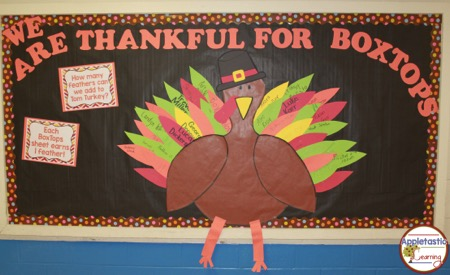 Box Tops Collection – Let's Dress the Turkey!