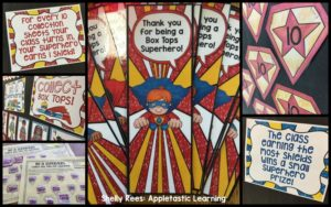 Box Tops for Education Superhero Contest