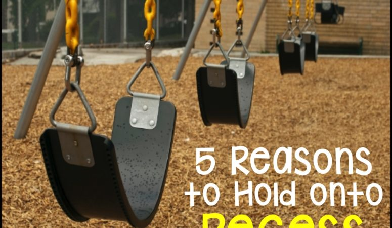 Recess: 5 Reasons Why We Should Hold onto It