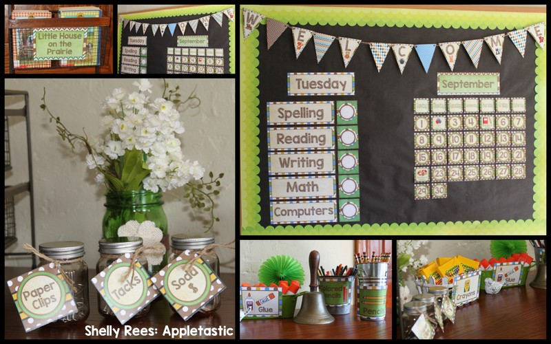 Woodland Classroom Decor ~ Woodland animals classroom theme appletastic learning