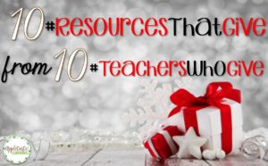 10 #ResourcesThatGive