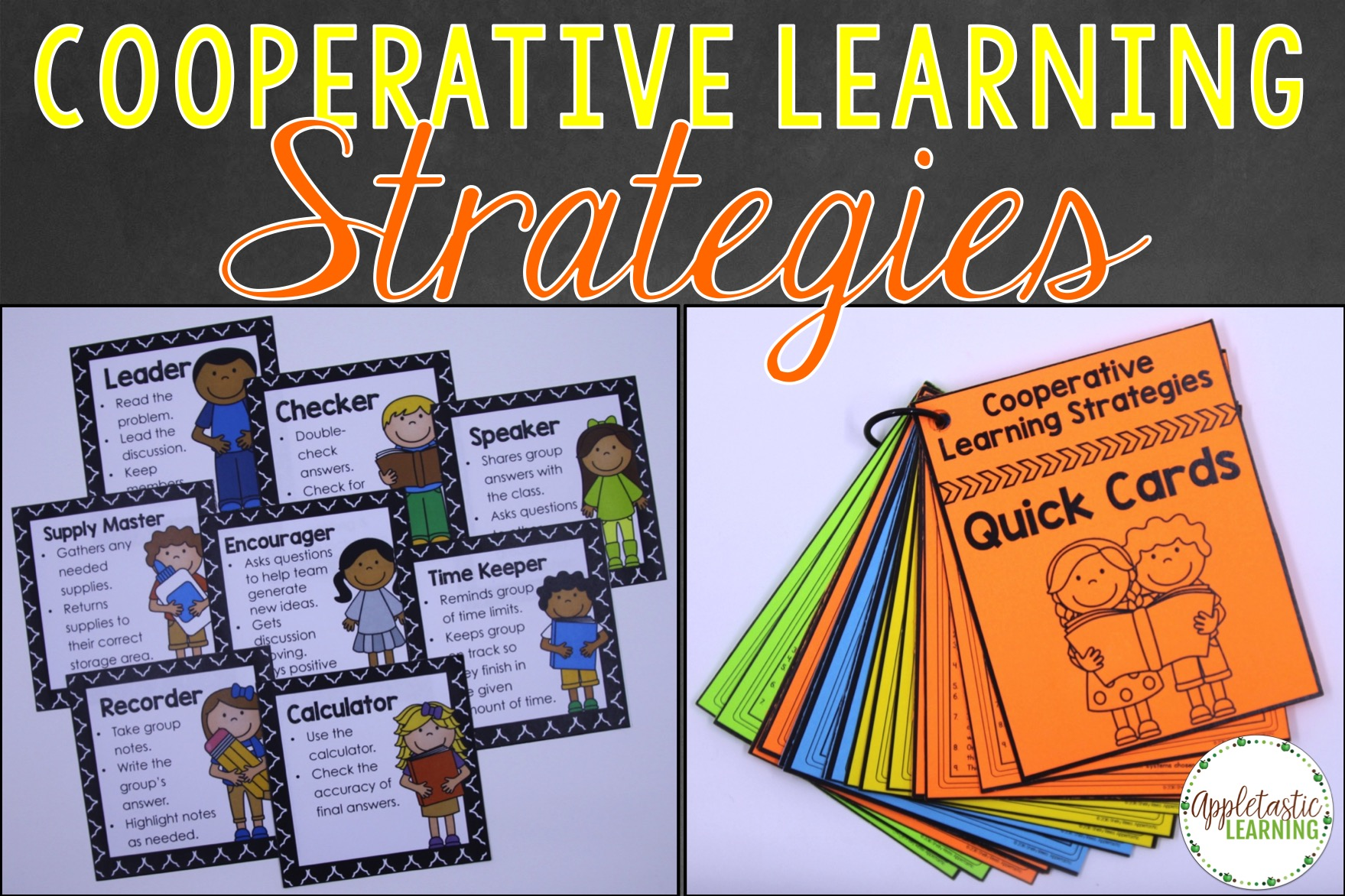 Collaborative Learning In The Classroom : Cooperative learning strategies appletastic