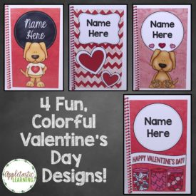 Personalized Valentine's Day Notebooks – The Perfect Student Gift
