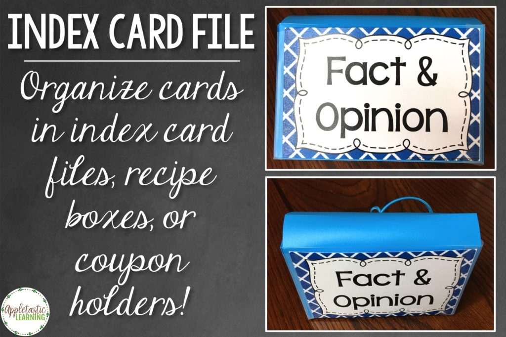 Task card organization no longer has to be frustrating and time-consuming. This post has tons of great ideas for storing and organizing all of your task cards. Click through to check them all out, and make sure to download your FREE task card organization editable labels. These will work great for ANY teacher who utilizes task cards in their classroom or homeschool. {2nd, 3rd, 4th, 5th, 6th, 7th, 8th grade - task card storage - task card organizer - free printable - organization tip}
