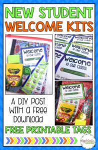Getting a new student no longer has to be stressful with these FREE DIY new student welcome packets. With just a little prep work, you can be ready for any new students. This little freebie will make a great gift to give your preschool, Kindergarten, 1st, 2nd, 3rd, 4th, or 5th grade classroom students. Make sure to grab it today. {preK, K, first, second, third, fourth, fifth graders}