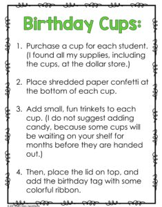 Creating student birthday gifts can be a challenge, but it doesn't have to be! Make each of your students feel special with this FREE download. Simply prep and give them away. Teachers at ALL grade levels will love this freebie and the ideas presented. Great for preschool, Kindergarten, 1st, 2nd, 3rd, 4th, 5th, or 6th grade elementary students. Middle School & High School teachers may give these out to homeroom students as well. Click through to get the birthday AND welcome freebie today!