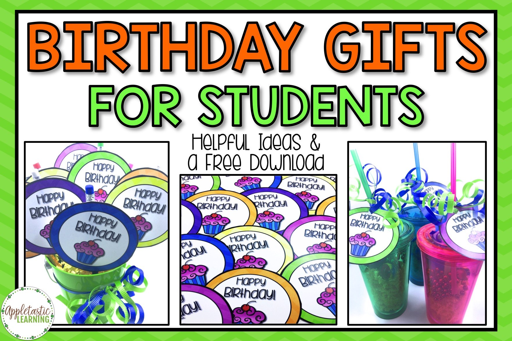 Creating Student Birthday Gifts Can Be A Challenge But It Doesnt Have To