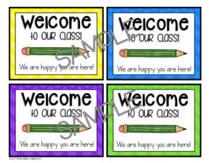 Getting a new student no longer has to be stressful with this FREE DIY new student welcome packet. With just a little prep work, you can be ready for any new students. This little freebie will make a great gift to give your preschool, Kindergarten, 1st, 2nd, 3rd, 4th, or 5th grade classroom students. Make sure to grab it today. {preK, K, first, second, third, fourth, fifth graders}