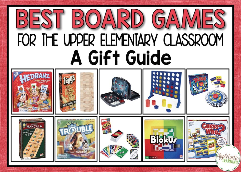 Elementary Classroom Games ~ Best board games for the upper elementary classroom