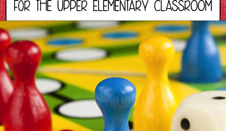 10 Best Board Games for the Upper Elementary Classroom