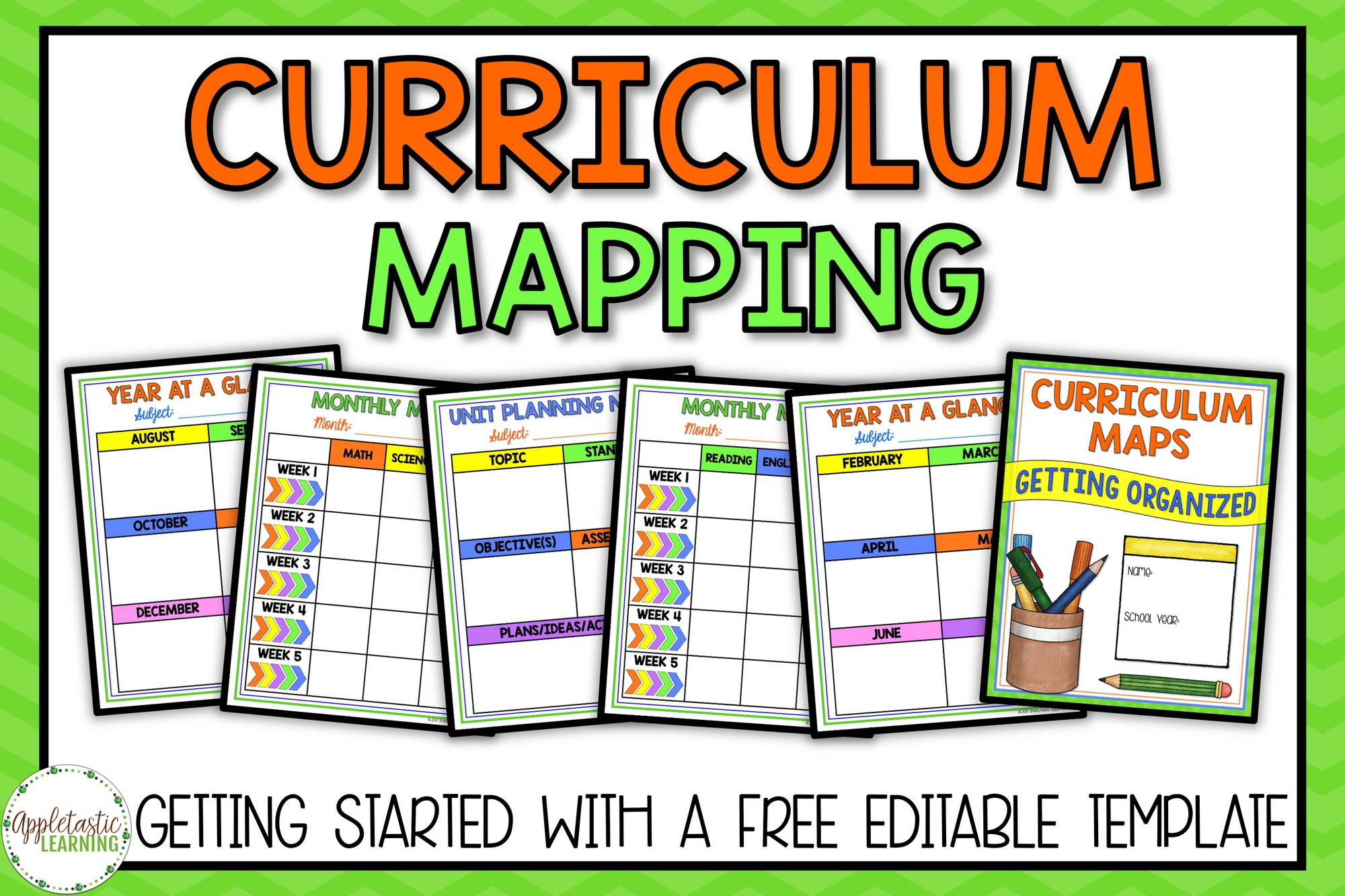 Curriculum Mapping – Getting Started with a Free Curriculum Map Template