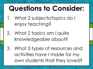 "Image with words ""Questions to Consider"""