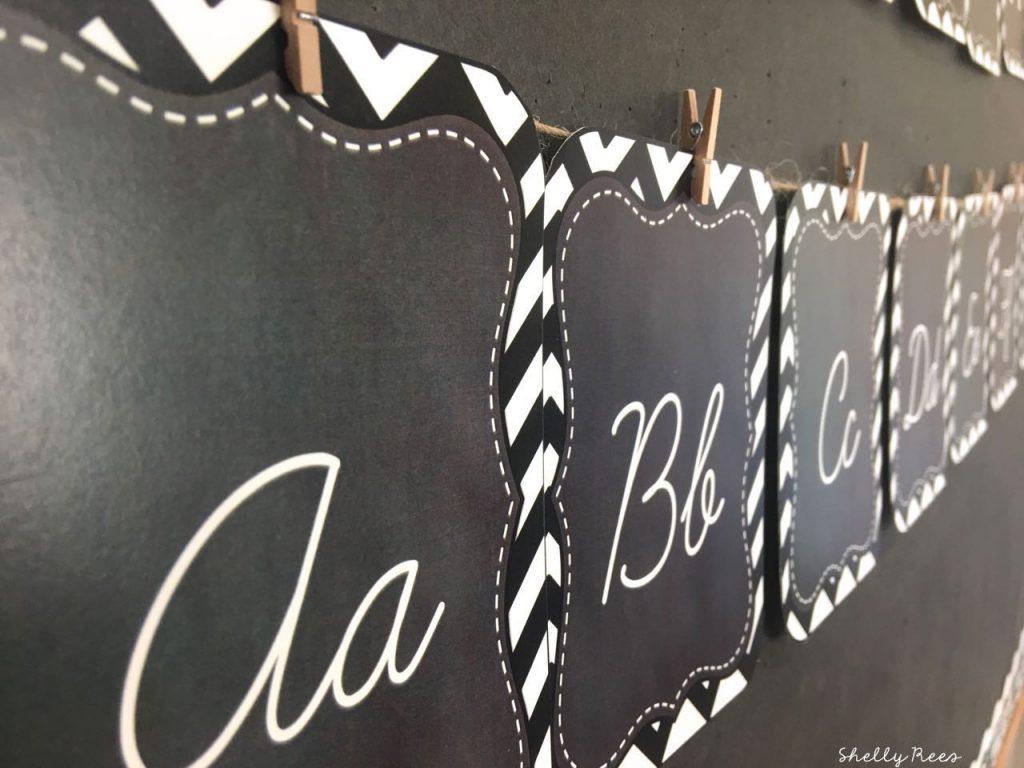 Chalkboard Classroom Theme Decorations