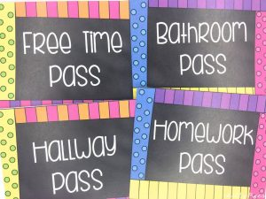 Chalkboard Brights Classroom Decor and Theme