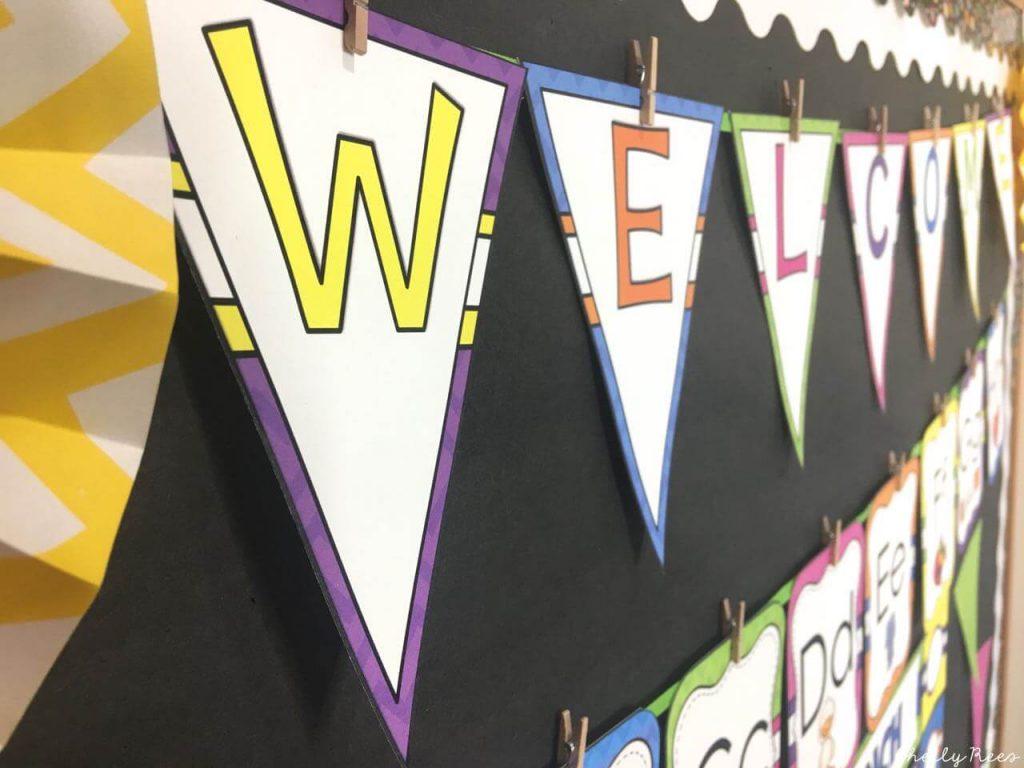 Bright Colors Classroom Decor Appletastic Learning