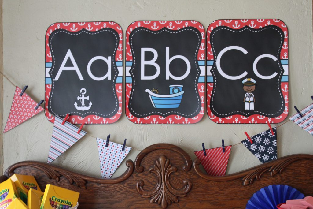 Nautical Classroom Theme Decorations