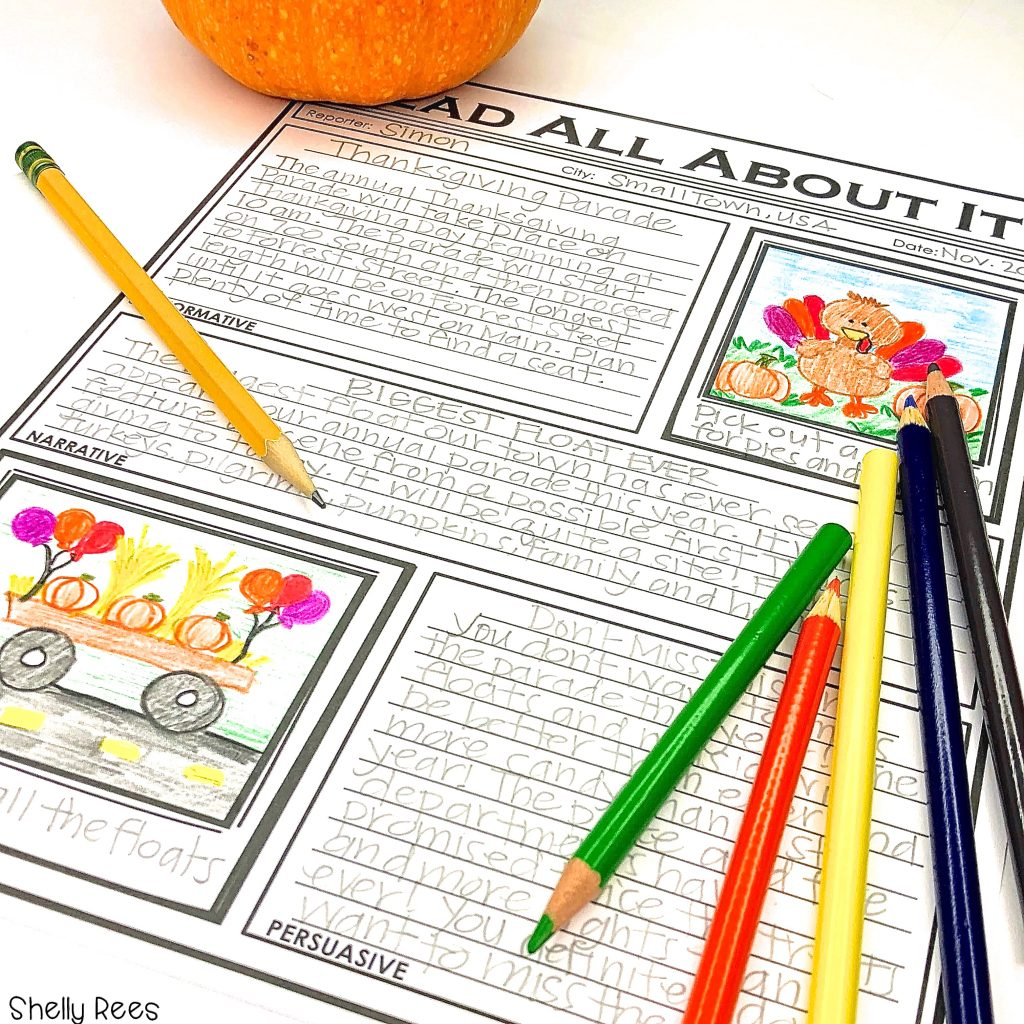 Thanksgiving projects for kids