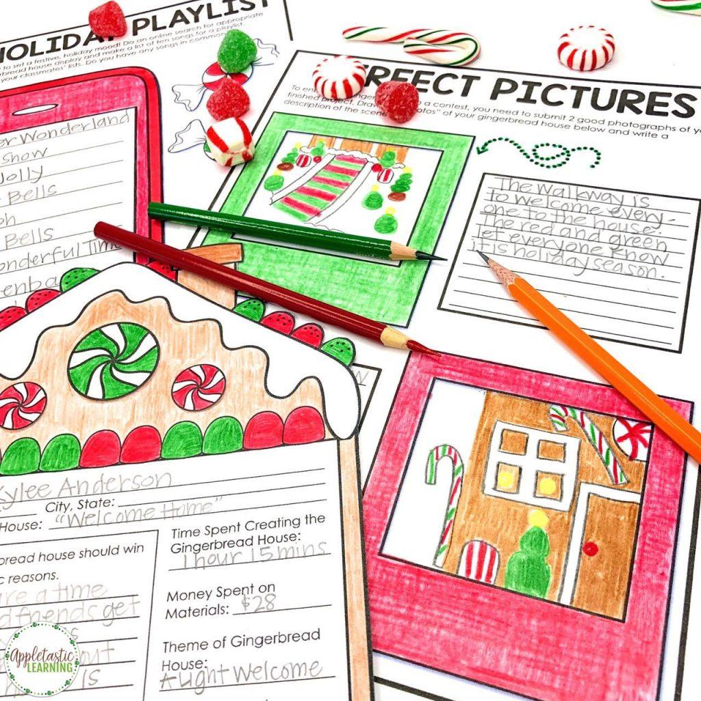 Christmas writing activities for kids