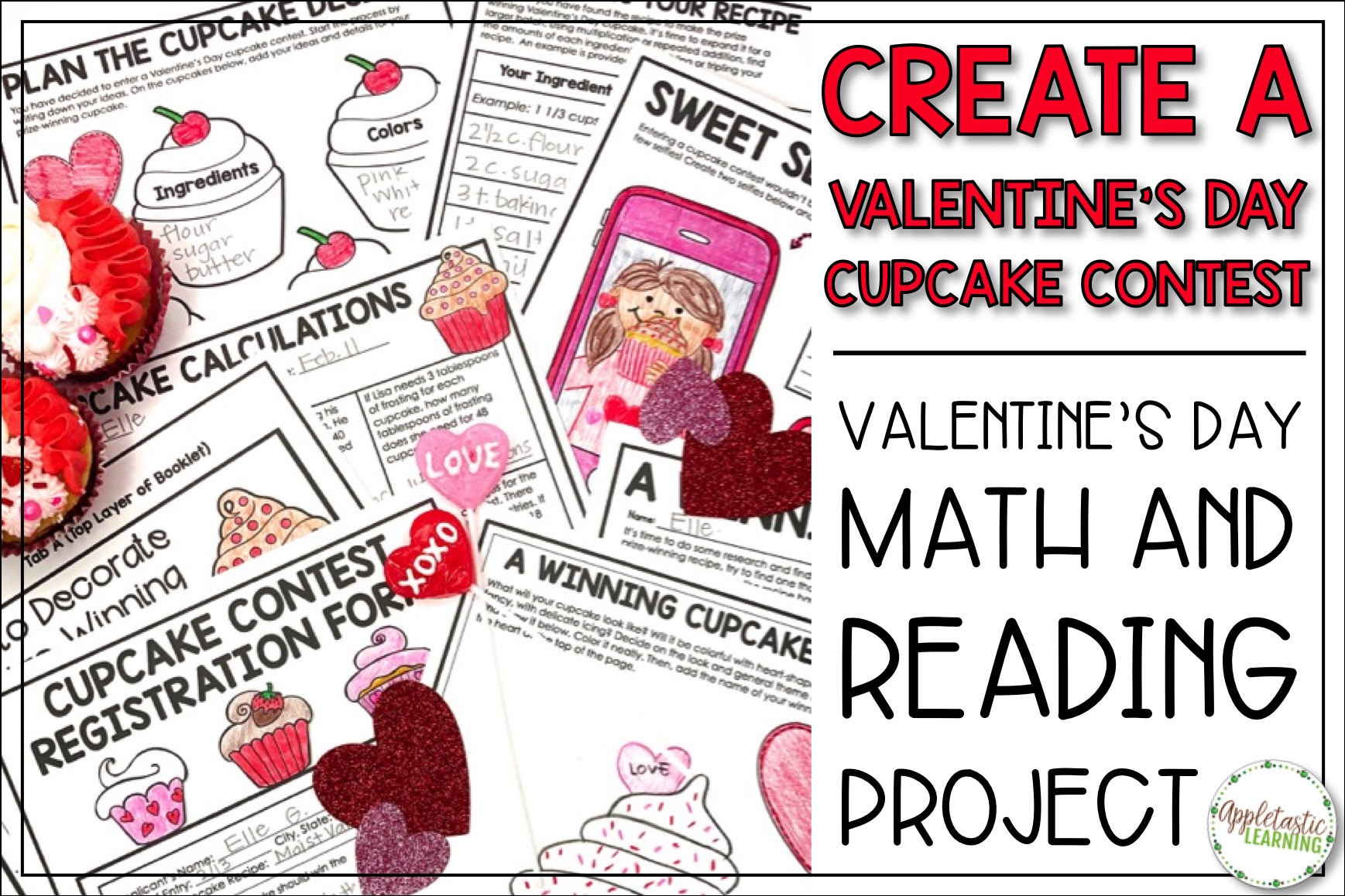 Valentine's Day Project Based Learning activity