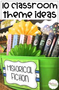 10 Classroom Theme Ideas
