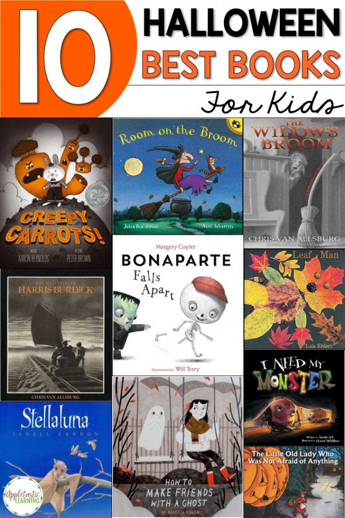 halloween book recommendations for kids