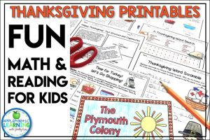 Fun Thanksgiving Printables