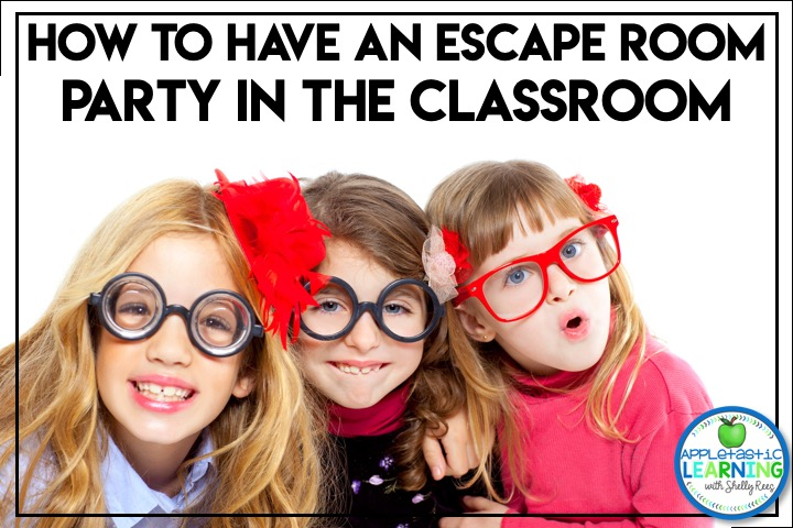 create a classroom escape room party