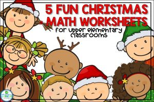 5 Fun Christmas Worksheets for Math