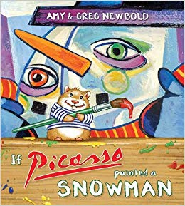If Picasso Painted a Snowman Winter Book