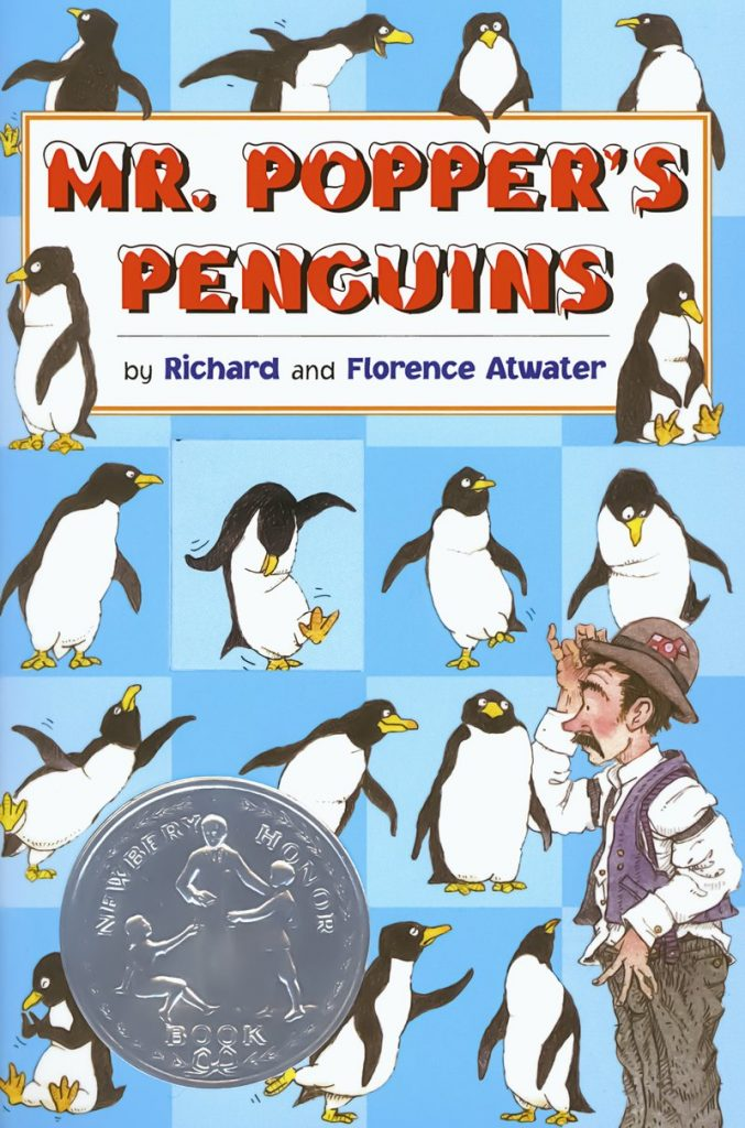 mr poppers penguins winter book