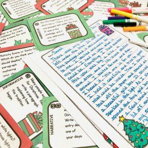 Christmas Writing Task Cards