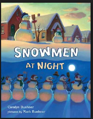Snowmen At Night Winter Book