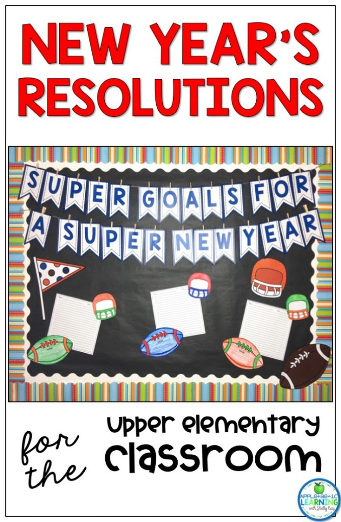New Year's Resolutions Worksheets Pin