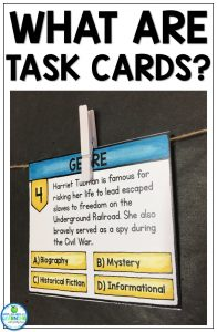 What are Task Cards Appletastic Learning