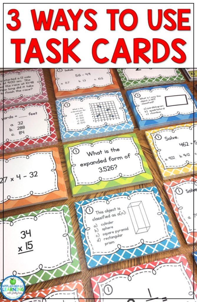 task card pin