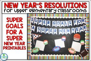 New Years Resolution Worksheets