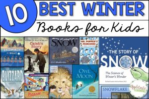best books for kids about winter