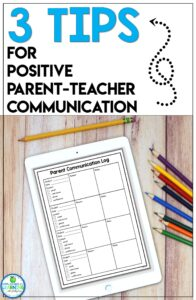 parent teacher communication tips and ideas with examples