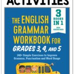 The English Grammar Workbook filled with lessons, practice and games