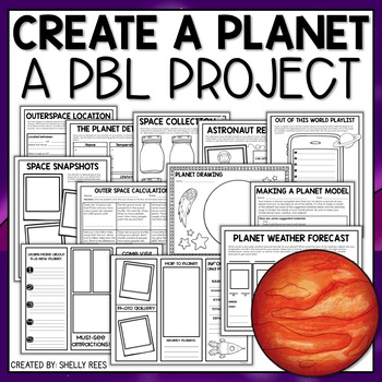 science and space project based learning activity for upper elementary