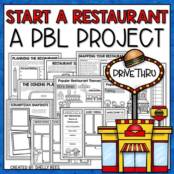 create a restaurant project based learning activty