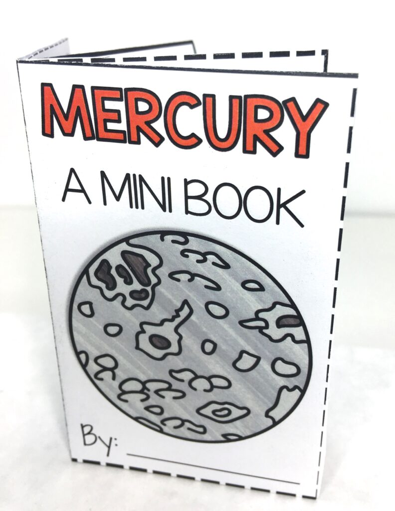 Planet Mini Book a Science Research Activity